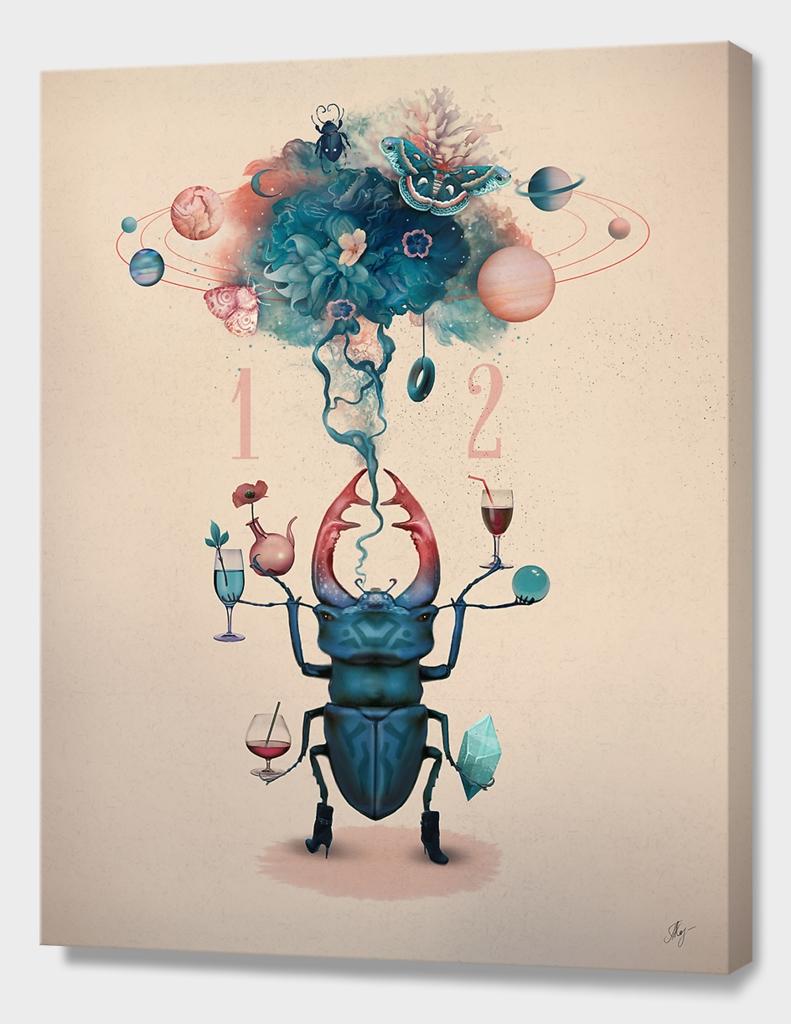 Funny beetle