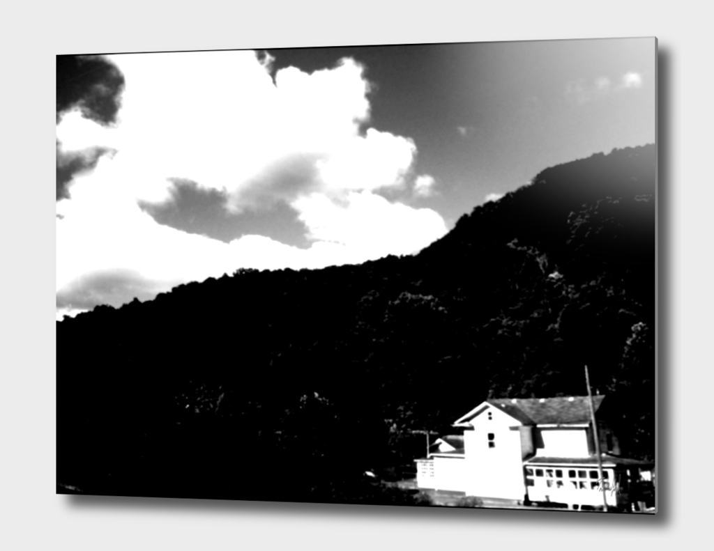 West Virginian Home - Black & White Edition