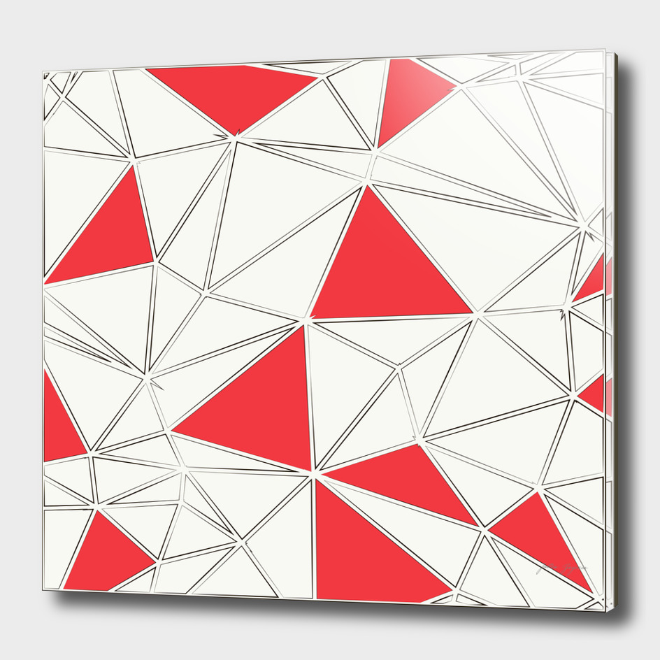 Triangles polygonal shapes geometrical