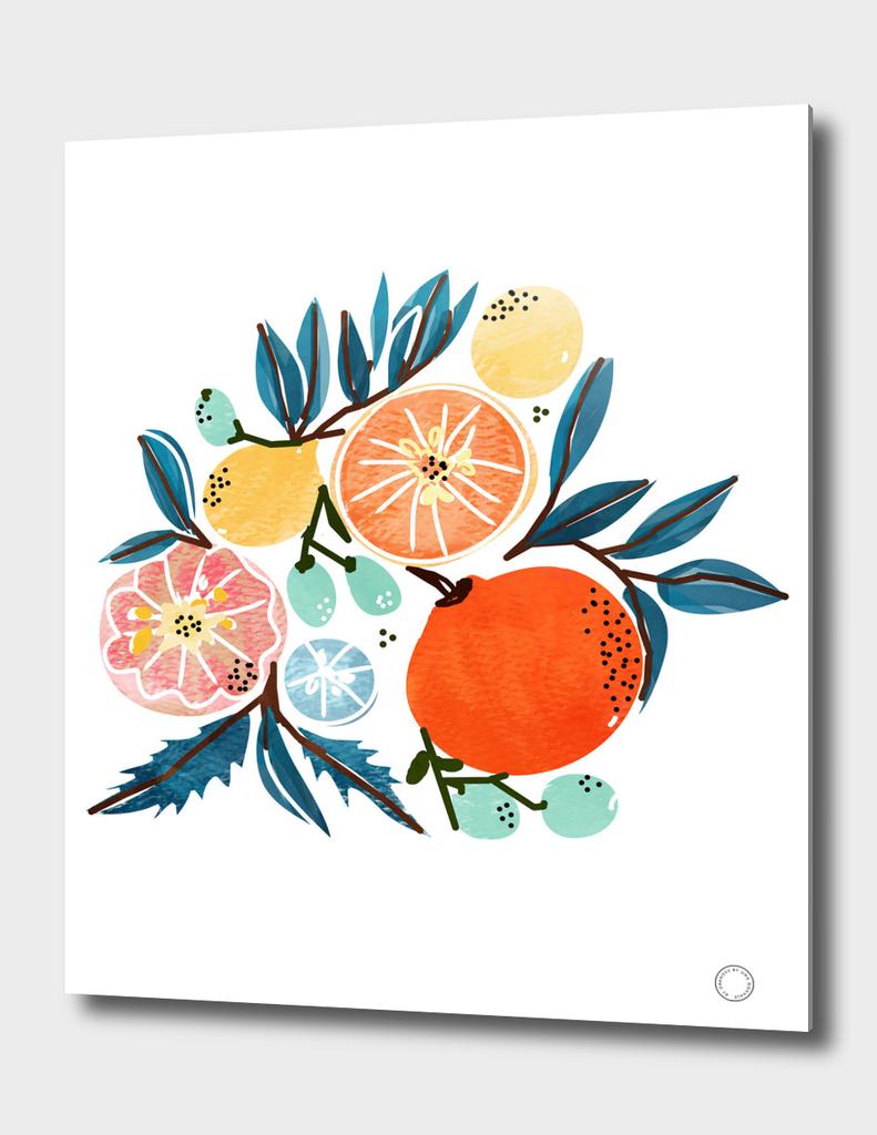 Fruit Shower-art-print