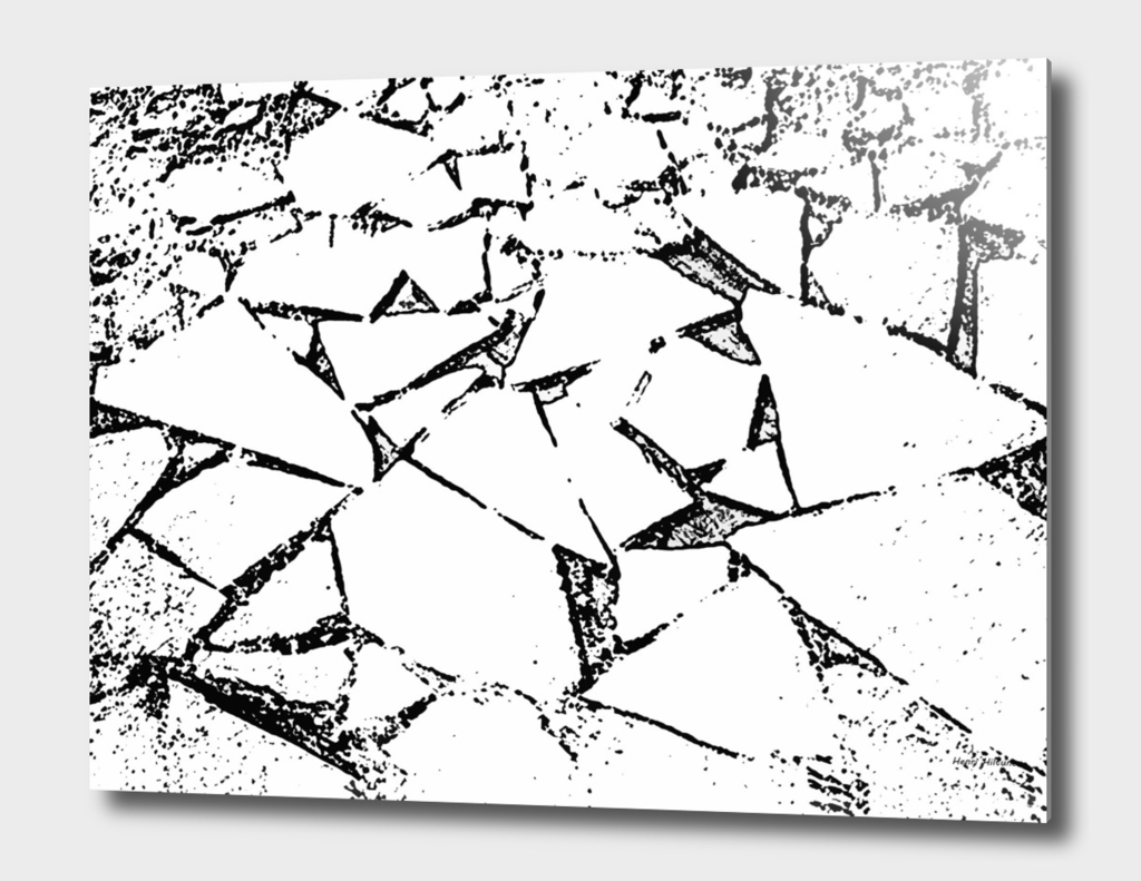 Ice Blocks black & white