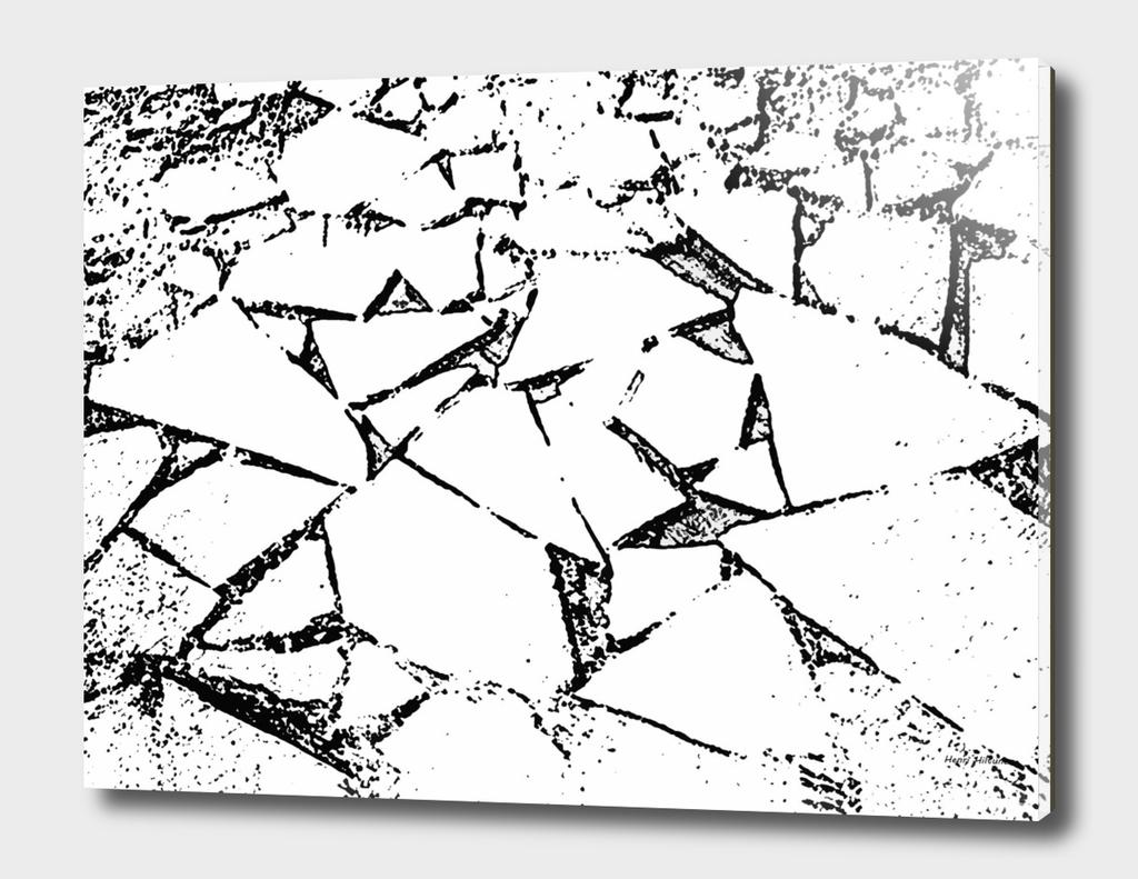 Ice Blocks black & white