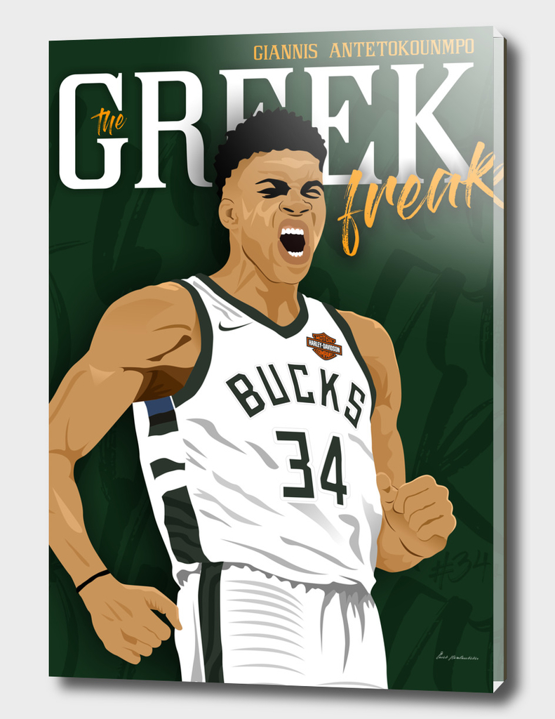 GIANNIS ANTENTOKOUMPO_ILLUSTRATION (4) poster