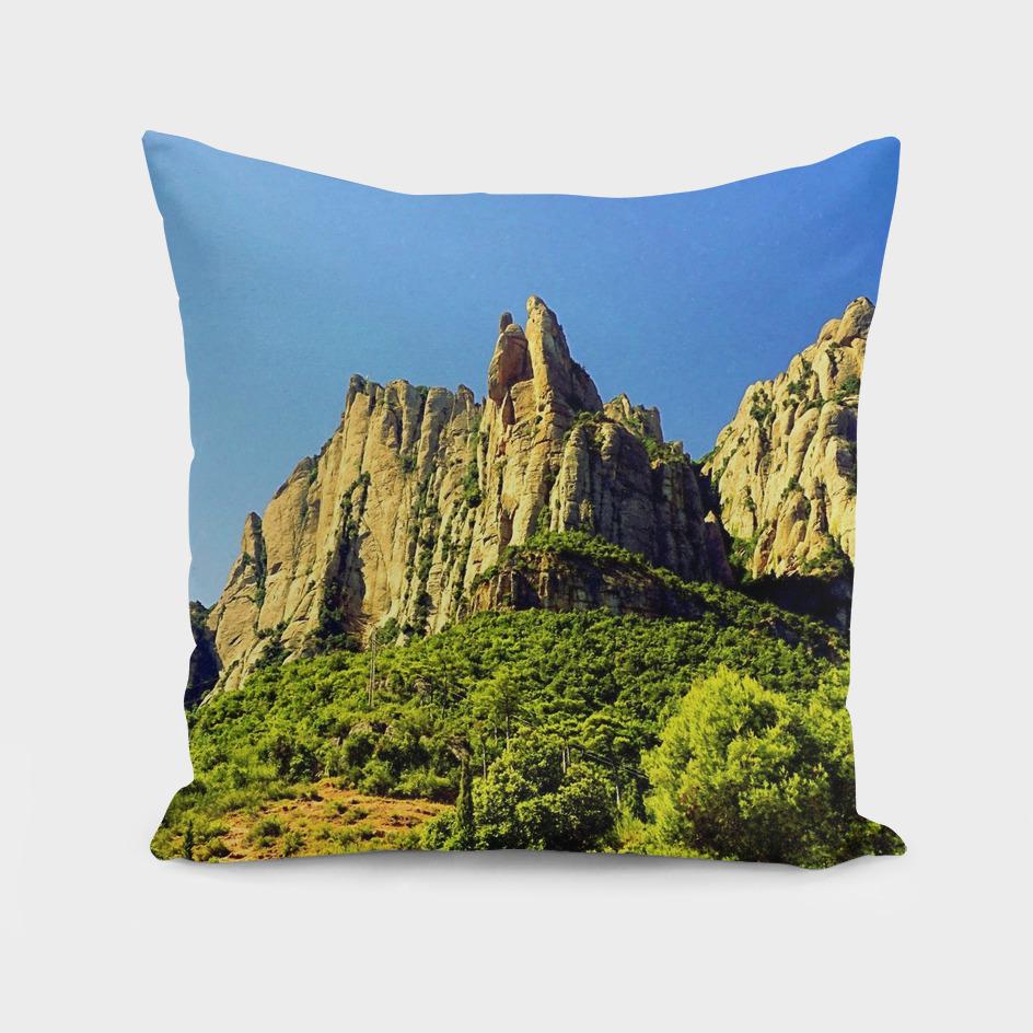 Mountains at Montserrat Island