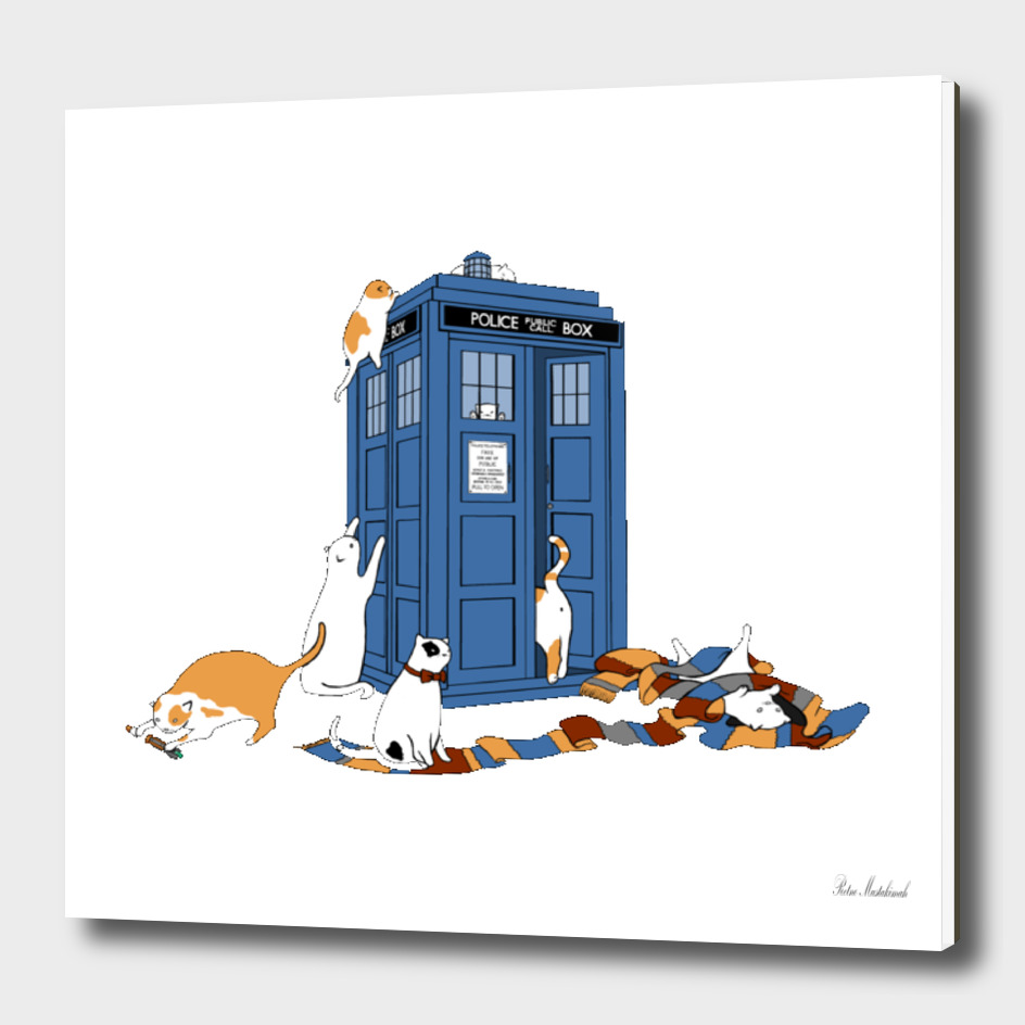 Doctor Who TARDIS Cats