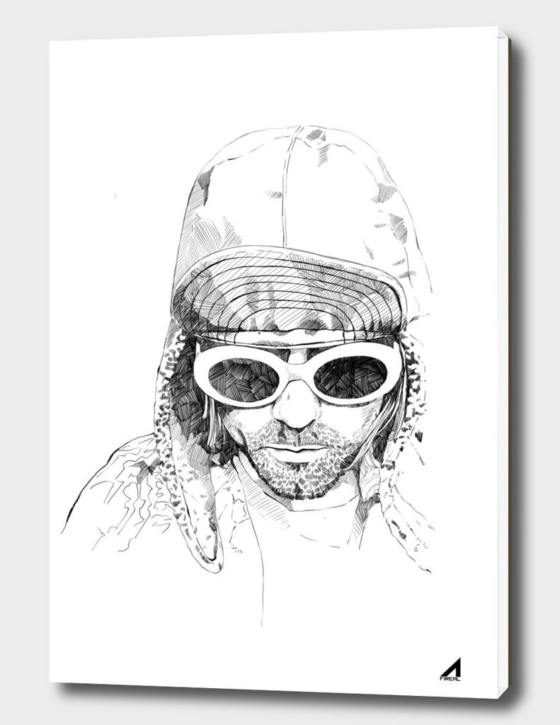 Kurt Cobain sketch