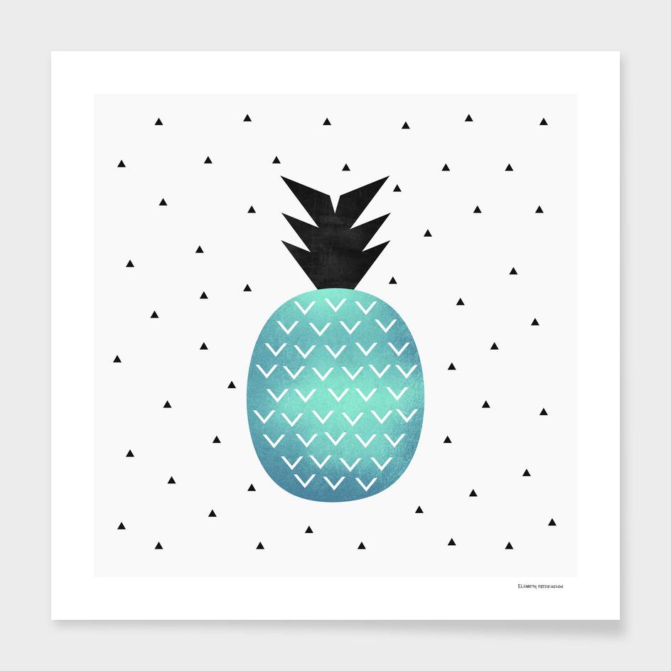 Turquoise Pineapple