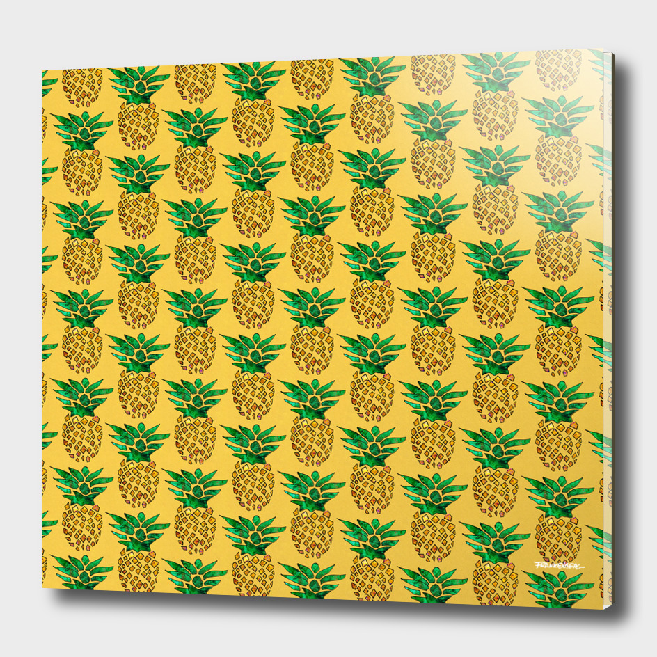 PaintedPineapplePattern – Yellow