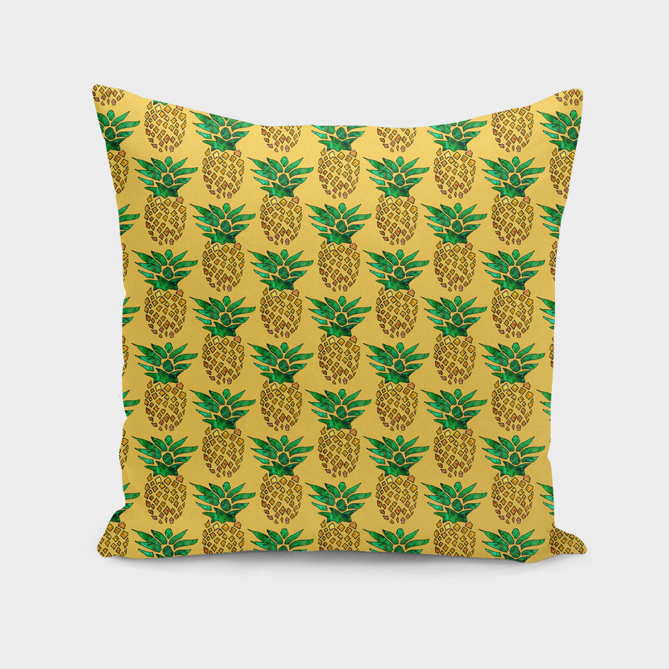 PaintedPineapplePattern – Yellow