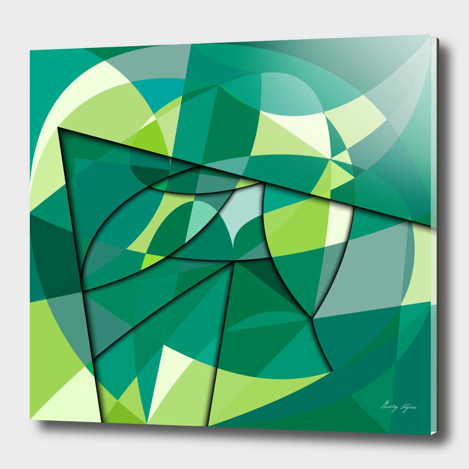 green tones №23