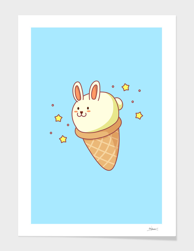 Bunny-lla Ice Cream