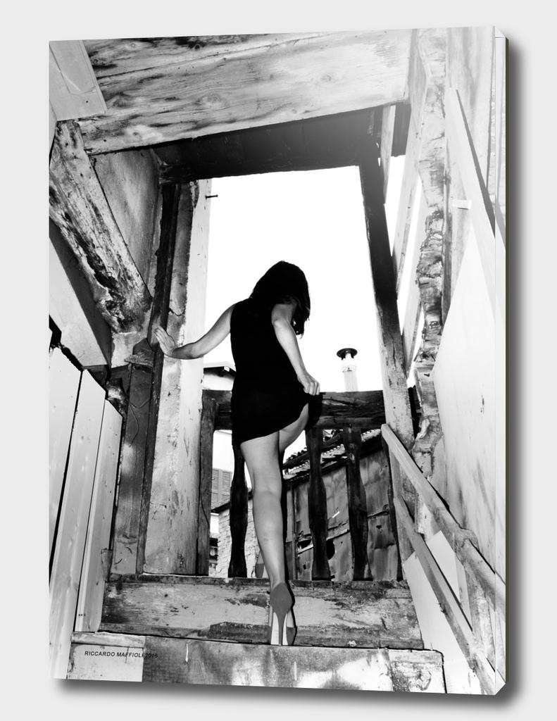 Salendo le scale