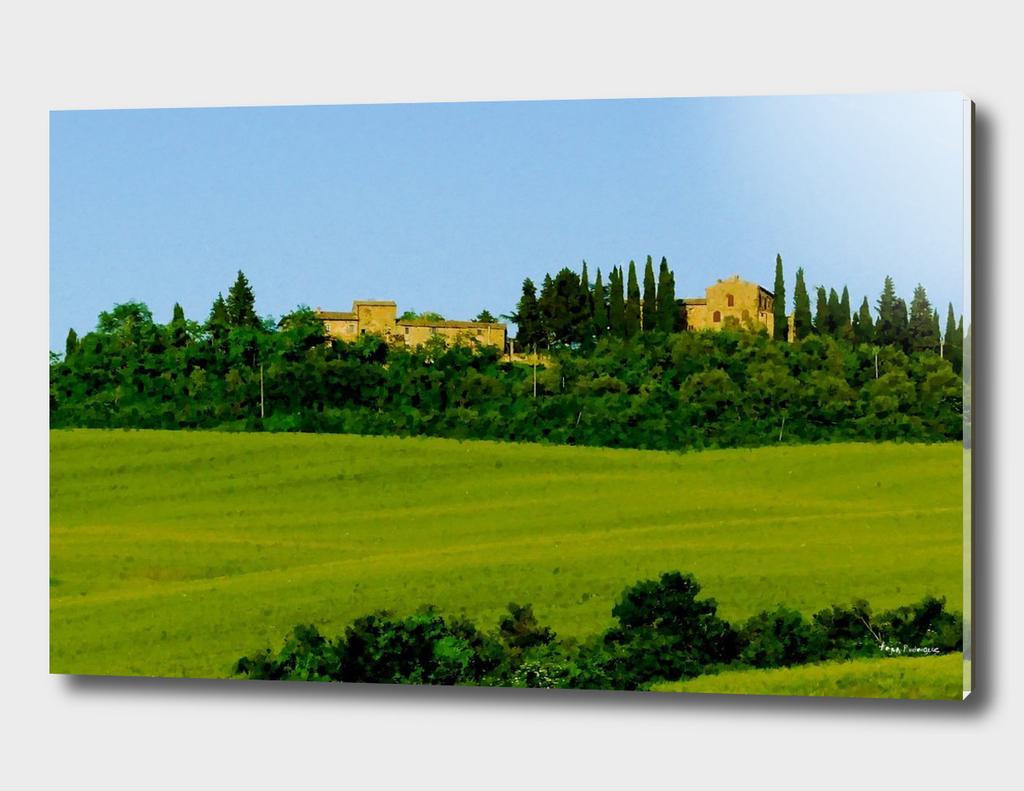 Toscana Hills Farm House in Tuscany