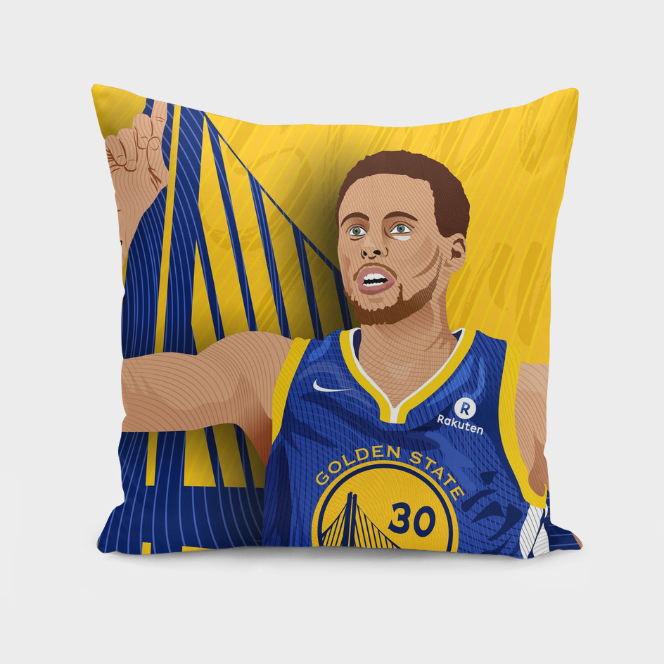 Stephen Curry_NBA_Illustration