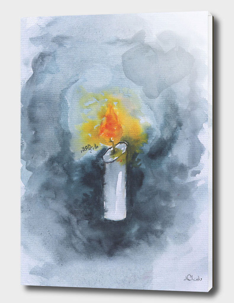 Enlight Watercolor Painting