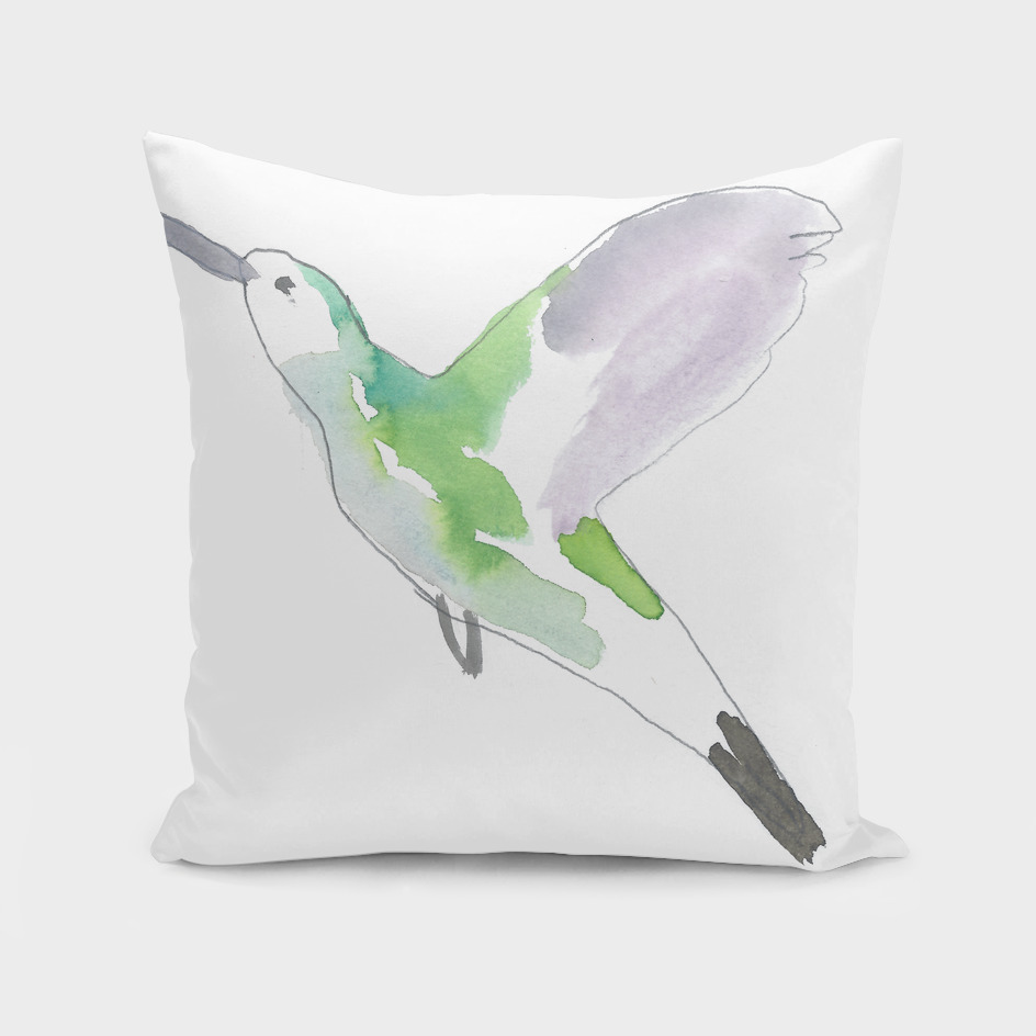 Oiseau vert ©louisemezel
