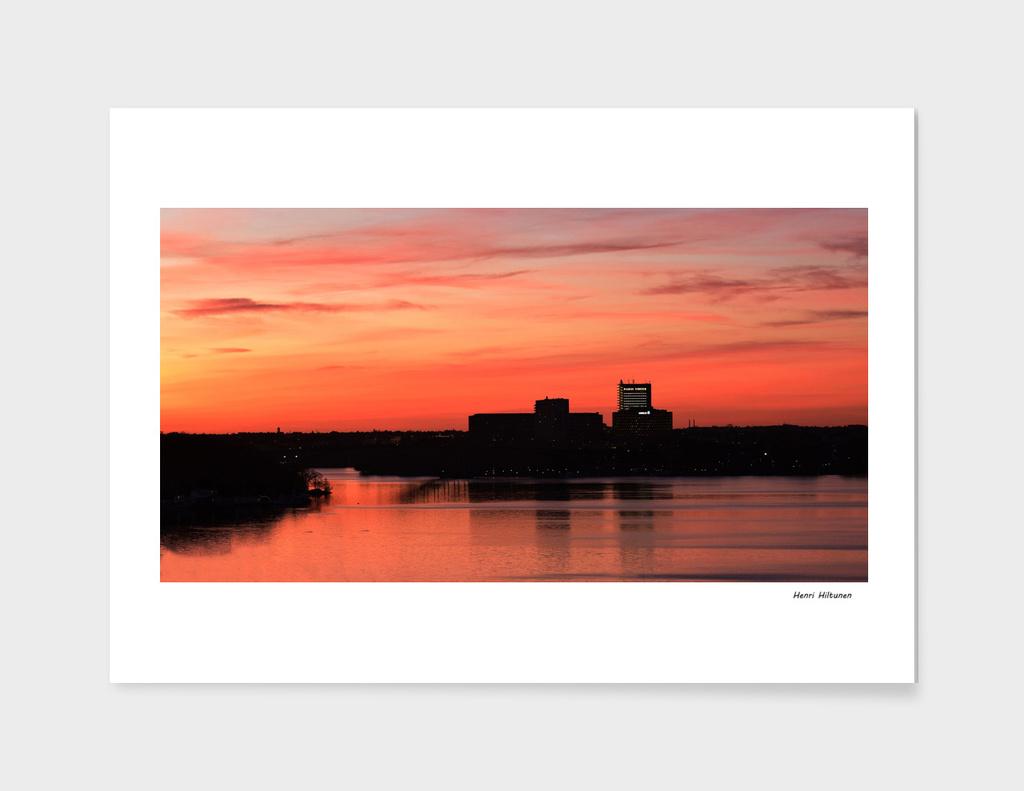 Stockholm Sunset 2