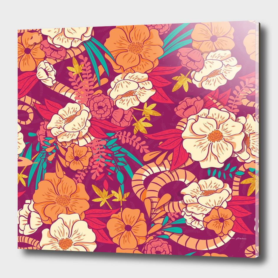Jungle Pattern 002