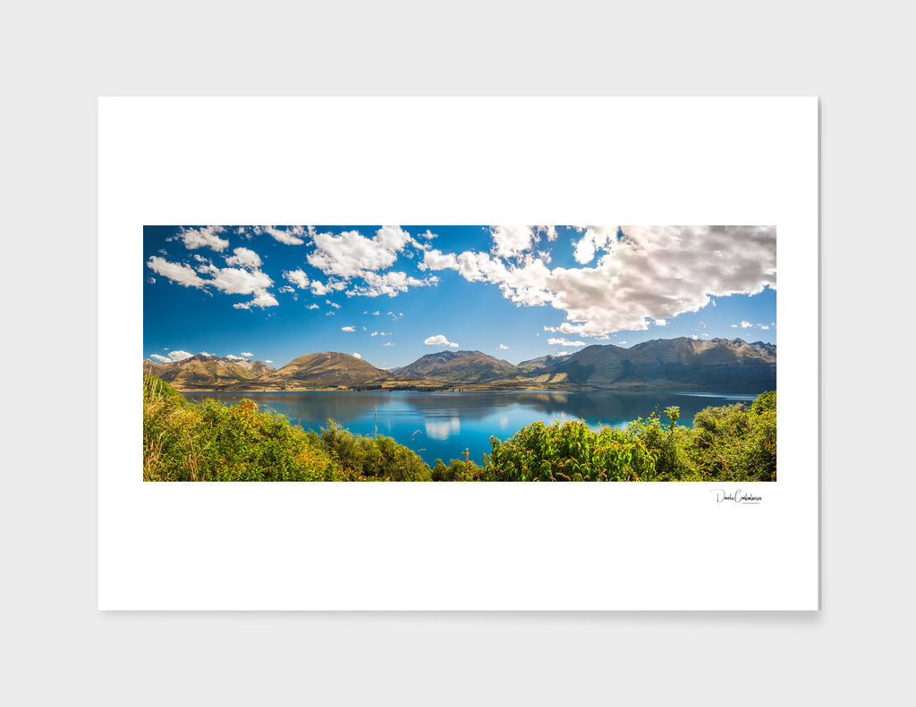 Lake Wakatipu Panorama at Golden Hour