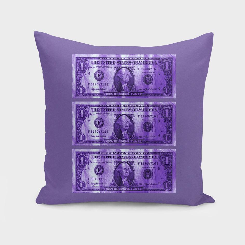 Greenback Front – 3 Dollar – Ultra Violet