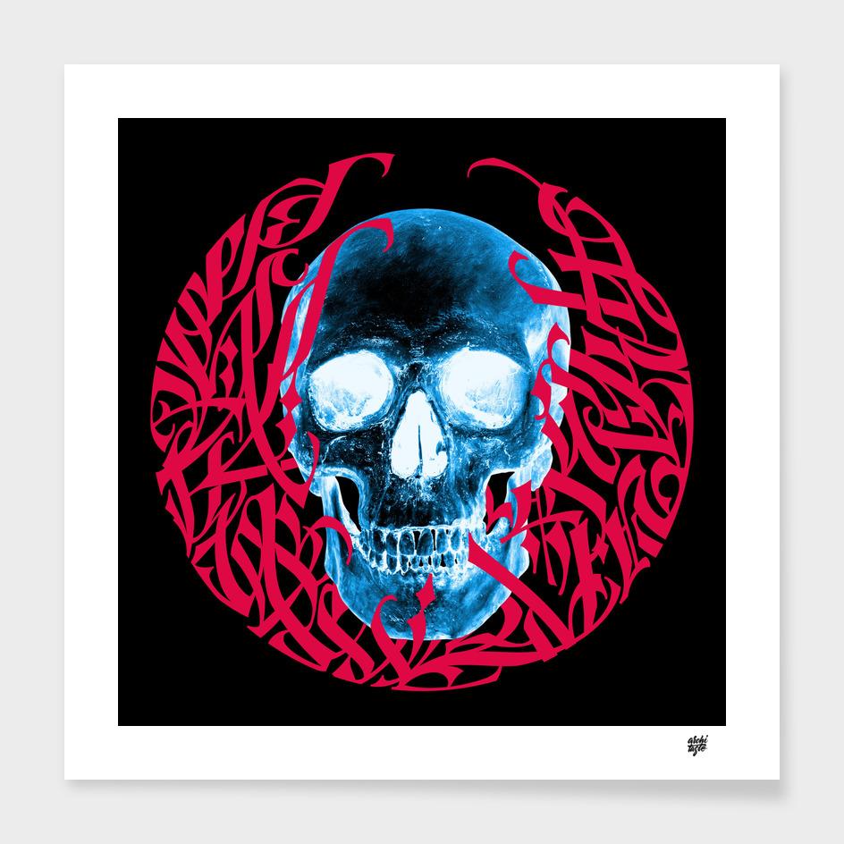 Calligraphic Skull