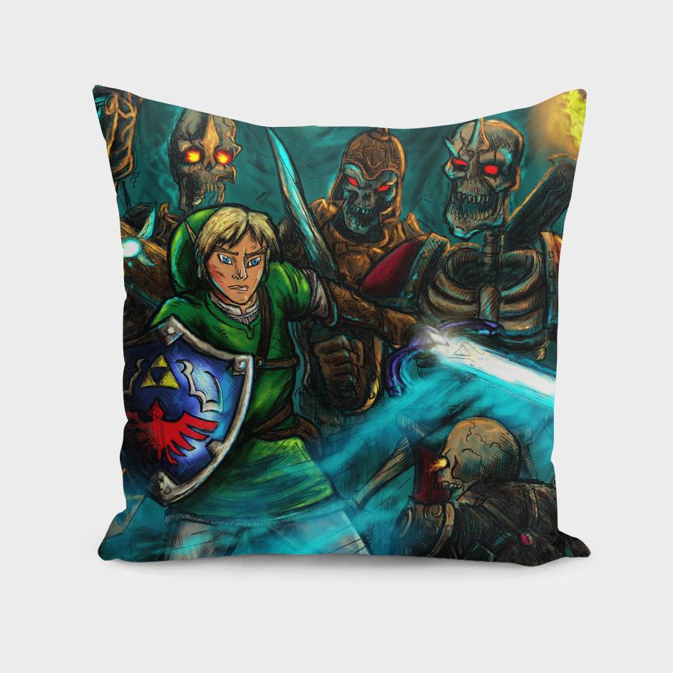 Link vs Stalfos | Zelda Series