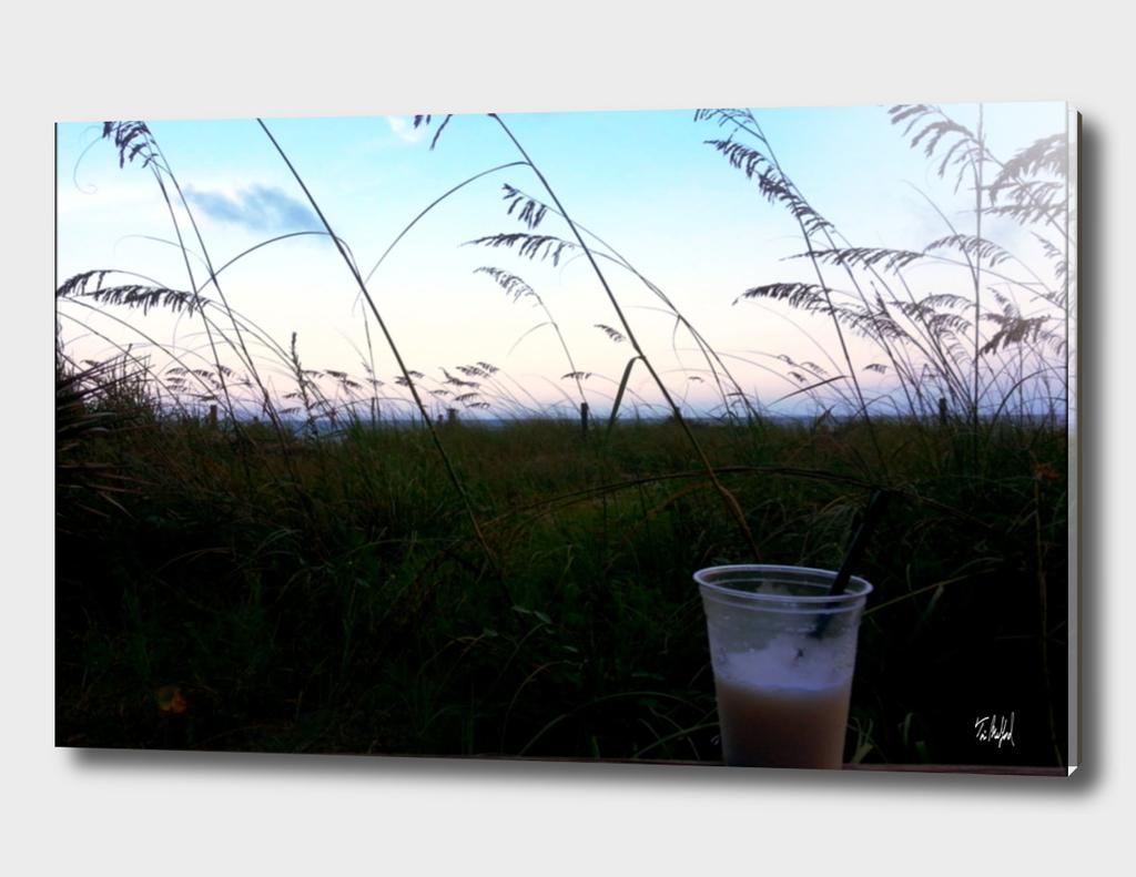 A Drink On The Beach