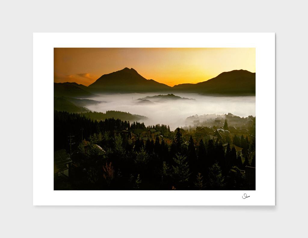 The cloud sea of Yufuin