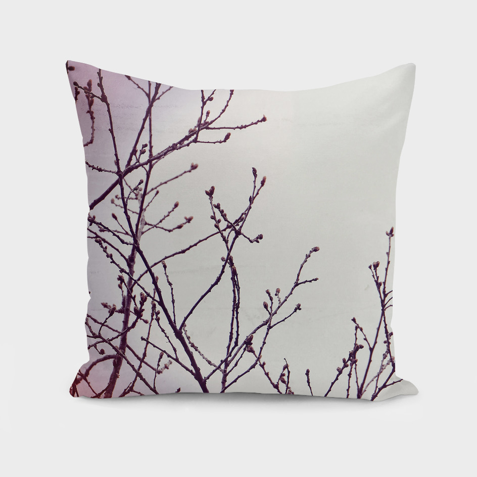 Branches pink lilac white