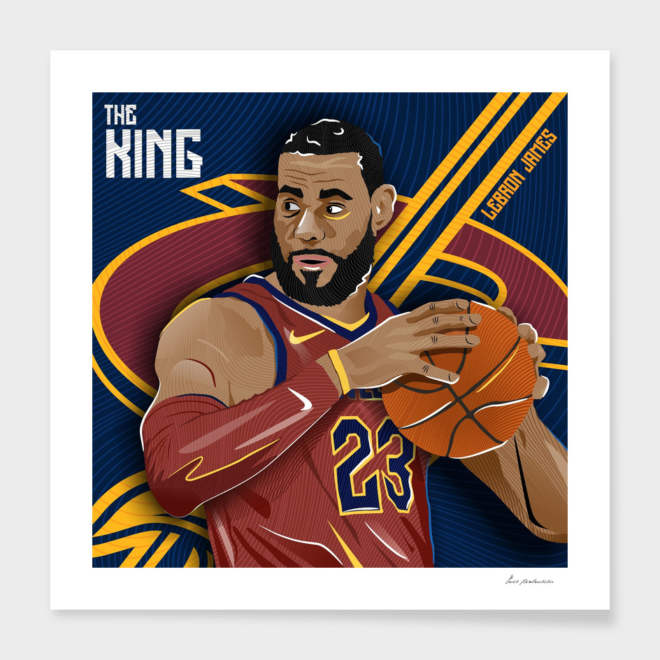 LeBron James_Illustration