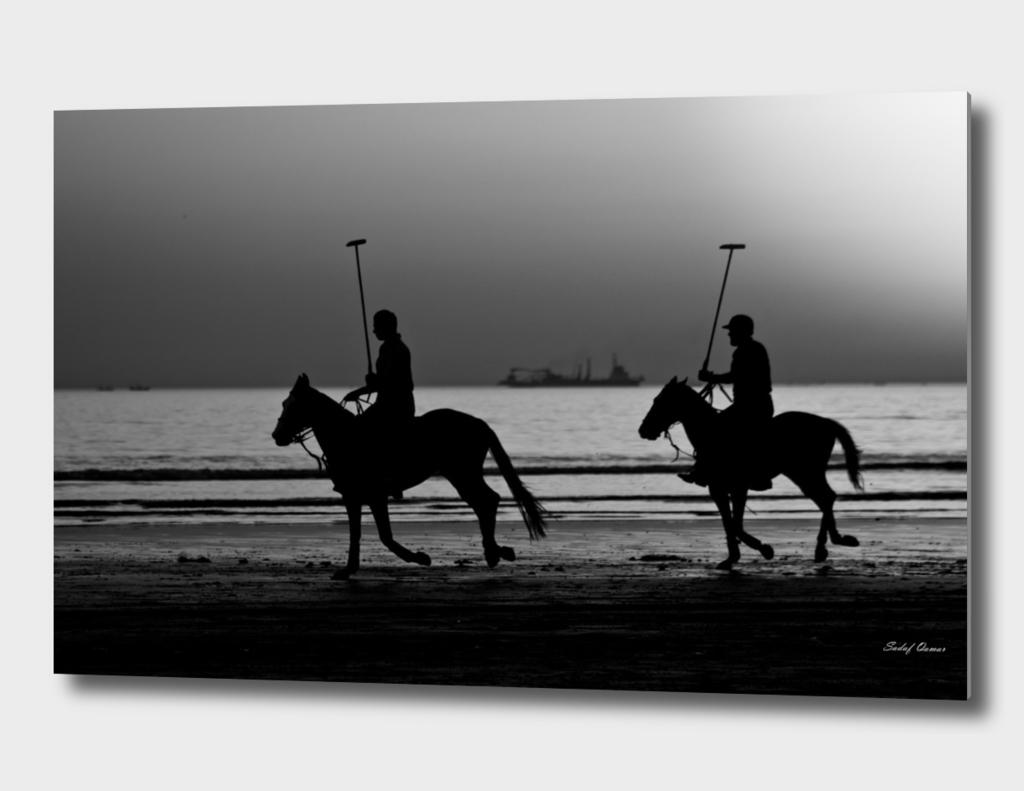 Polo on Beach 1