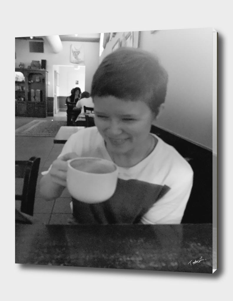 COFFEE SHOP LAUGHS