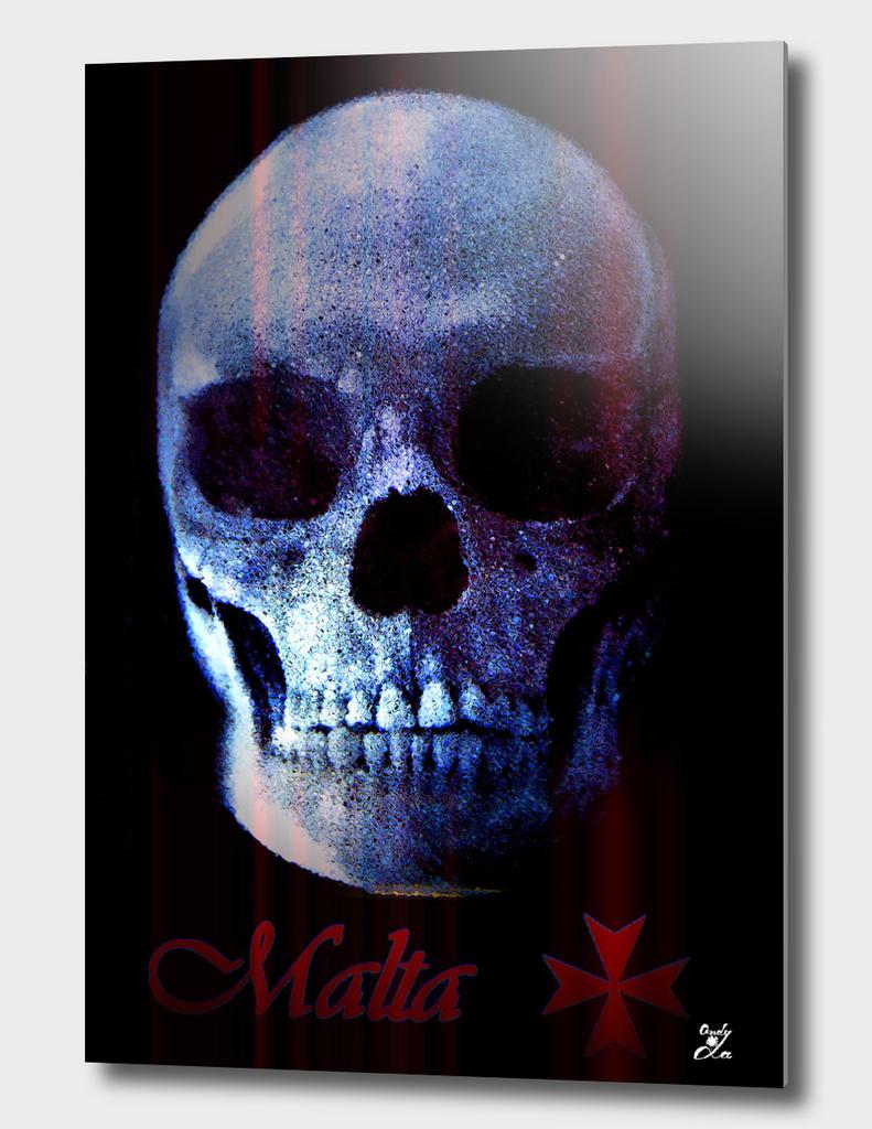 Skull 3D. Malta.