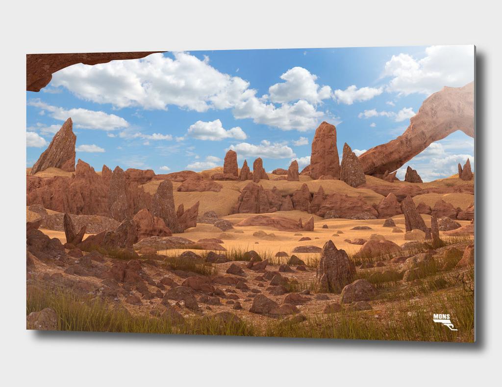 Cave Rocks Landscape