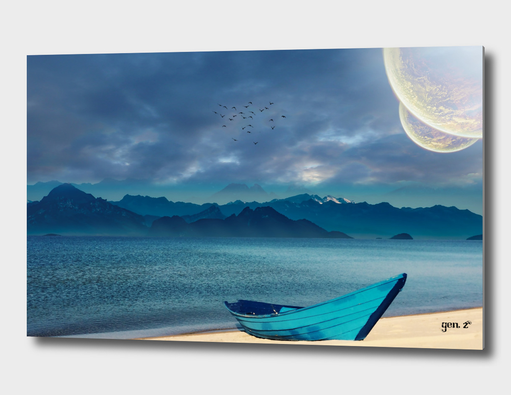 Blue Boat by GEN Z
