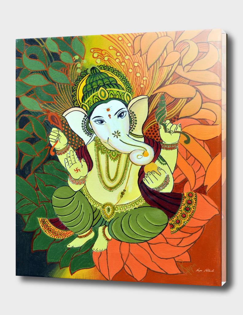 Leaves Ganesha