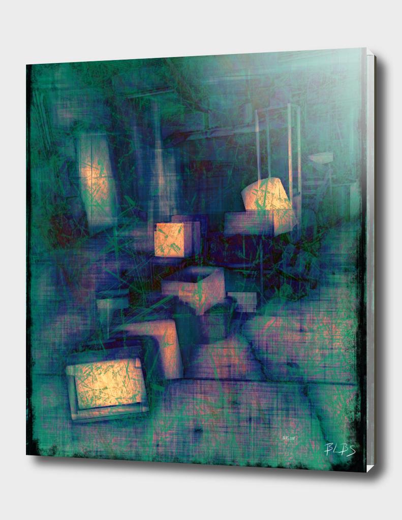 Abandoned - No 2 - Blue