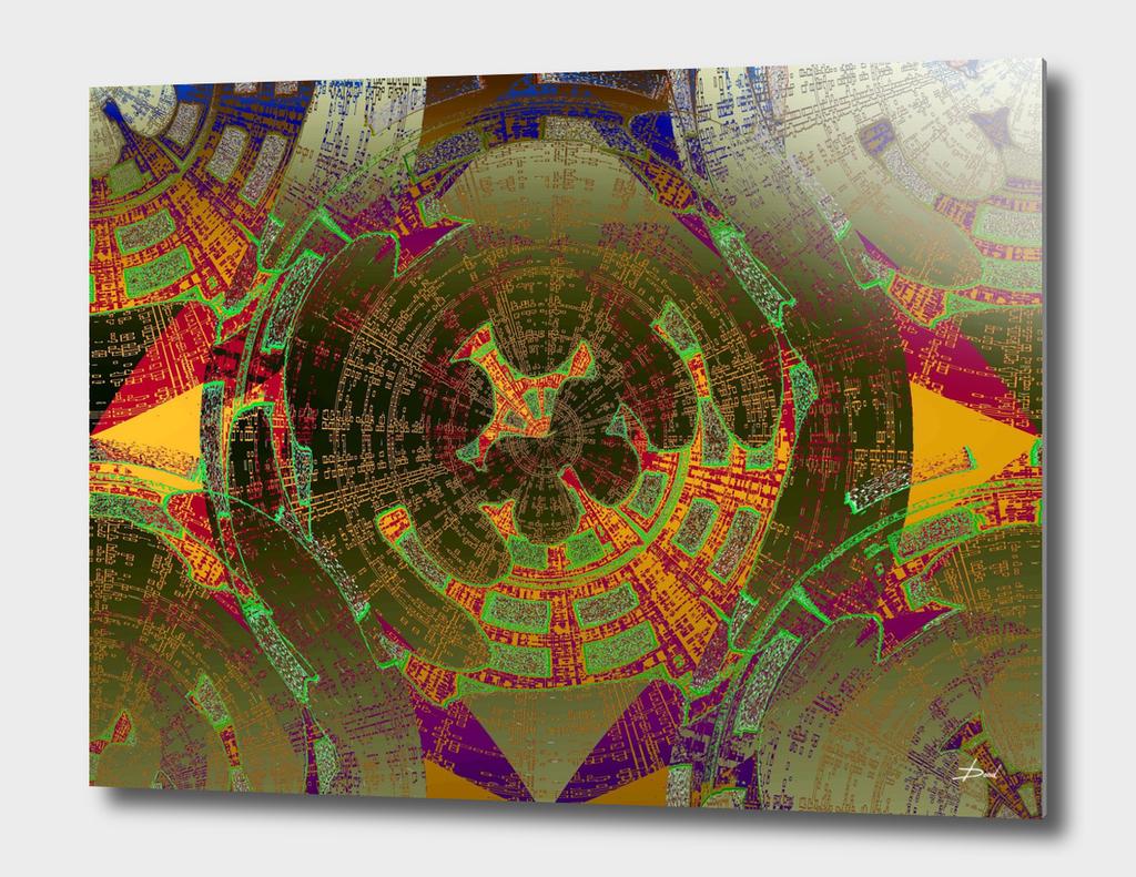 Inverted Geometric Protraction 2