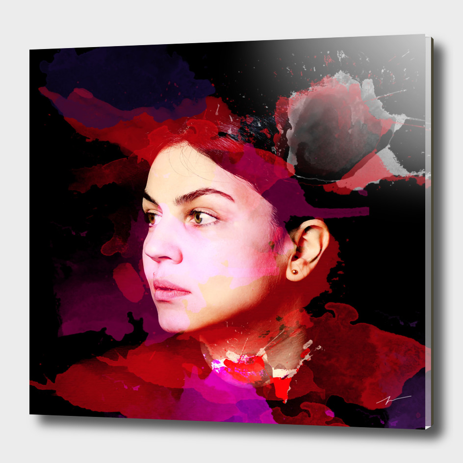 Kirovair Watercolor Portrait Photo #buyart #home #decor