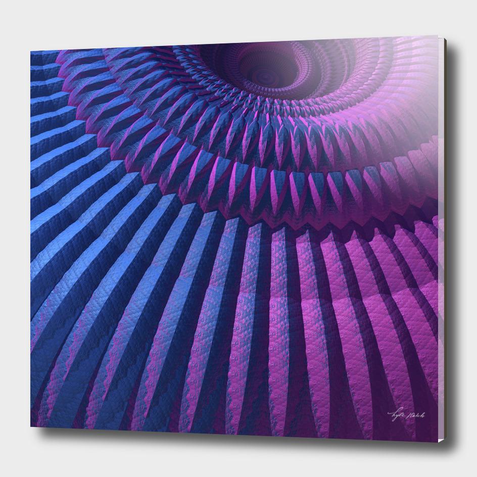 Mandala in Cool Tones