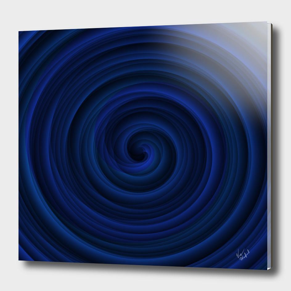 Indigo swirl