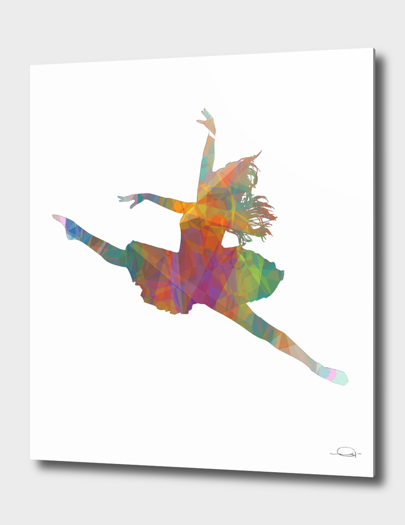 Ballerina Jump Colors