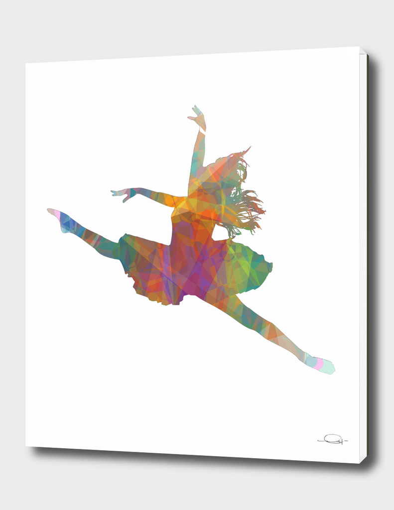 Ballerina Jump Colors