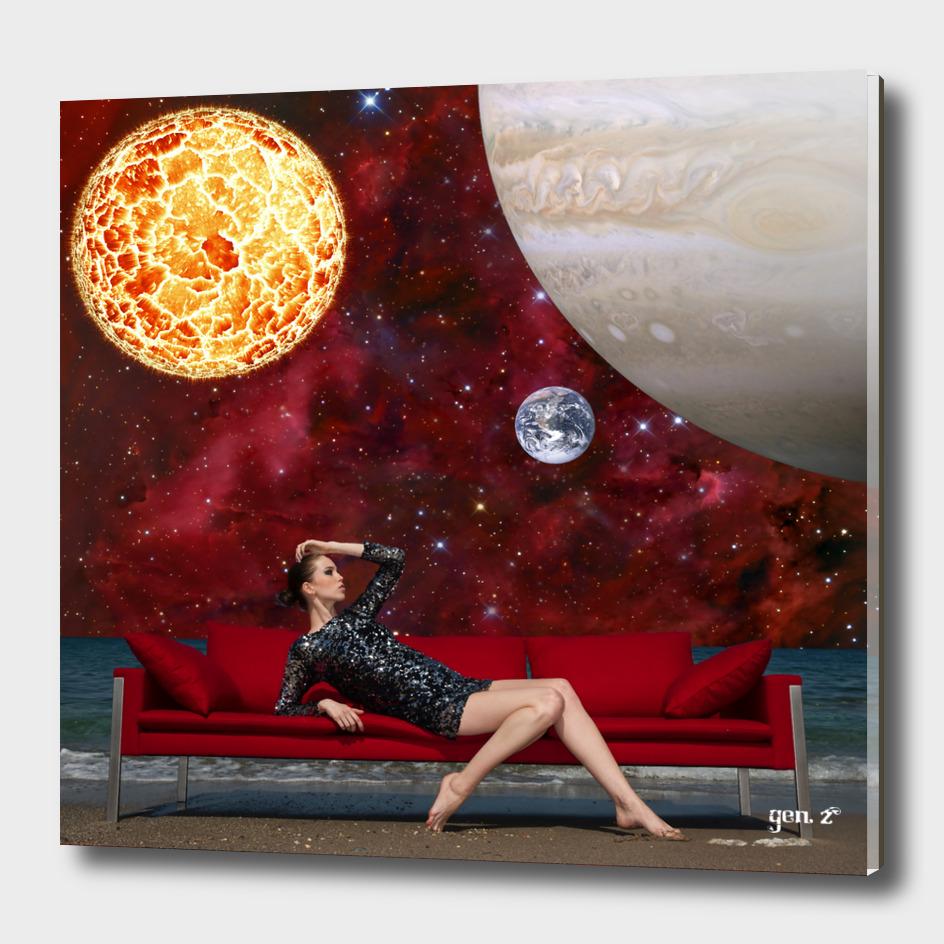 Space Model by GEN Z
