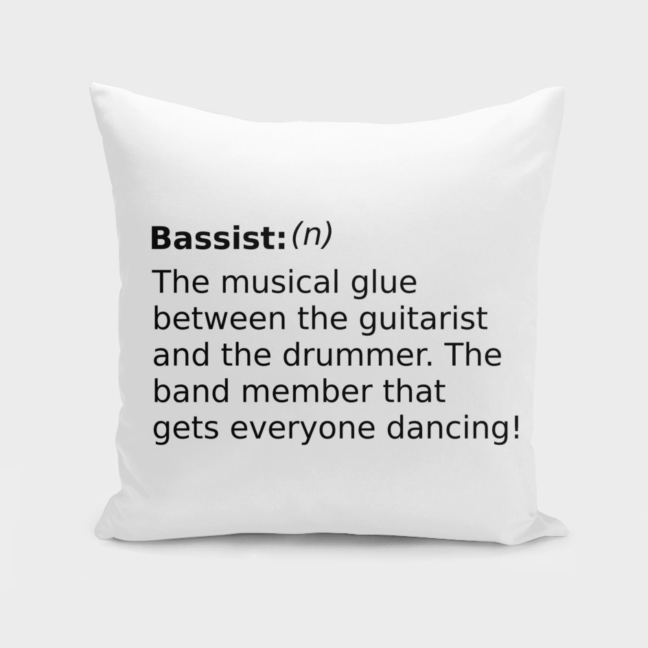 Definition of a Bassist