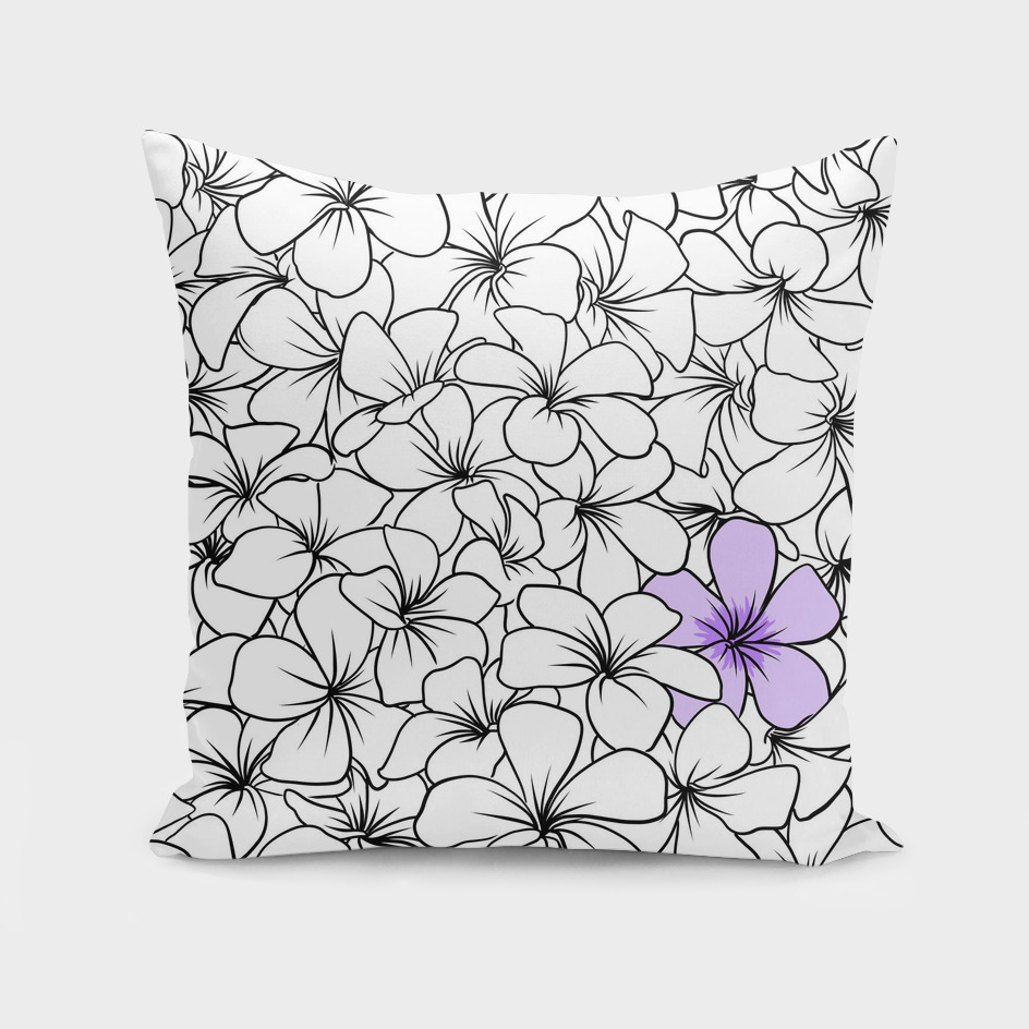 Frangipane flowers