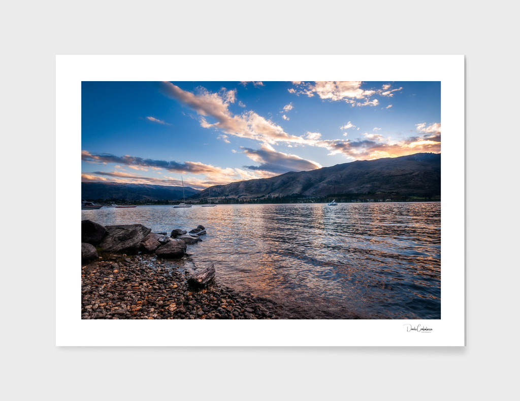 Wanaka Lake Sunset