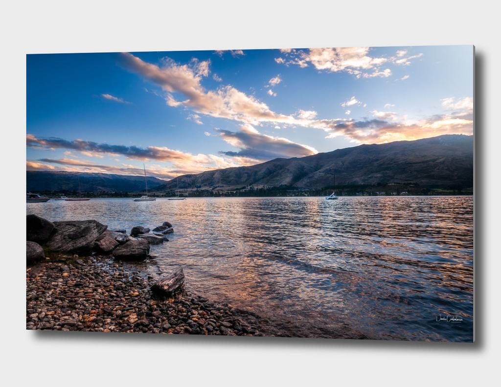 Wanaka Lake Sunset