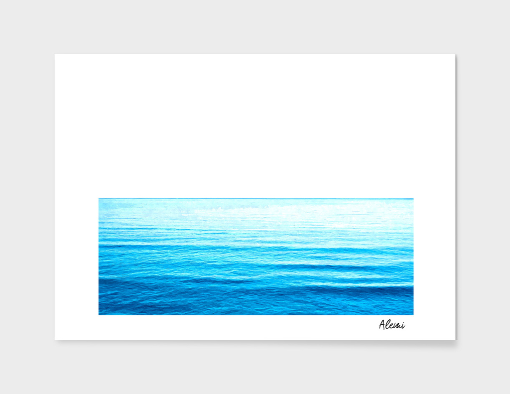 Blue Ocean Illustration