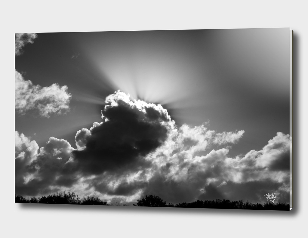 Clouds. light and shadow